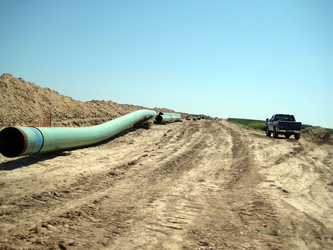 Pipes for the Keystone Pipeline